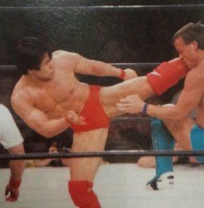 第54戦目  田村潔司vsビリースコット  Uインター プロレス  1996年4月大阪府立体育館
