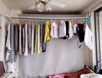 【孤高のDIY】デットスペース【大量洗濯物干し竿?】作る