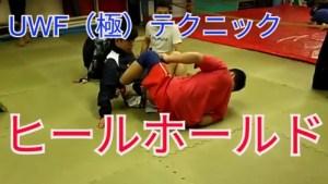 【ワンポイント】ヒールホールドの逃げ方(防御)回転体