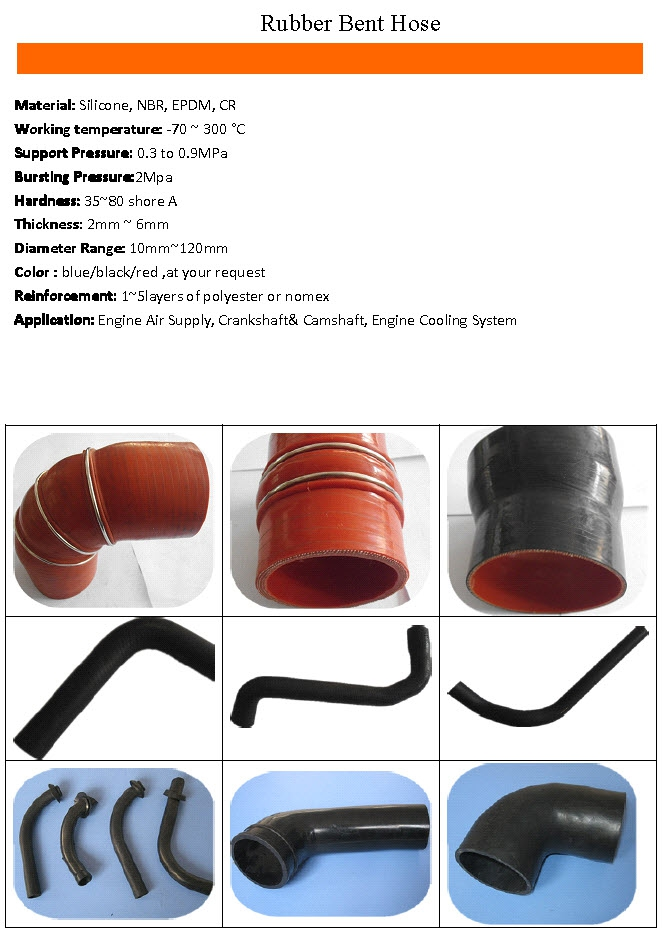 Rubber Bent Hose