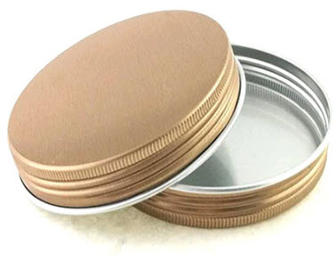 Colorful Metal Screw Can Lid