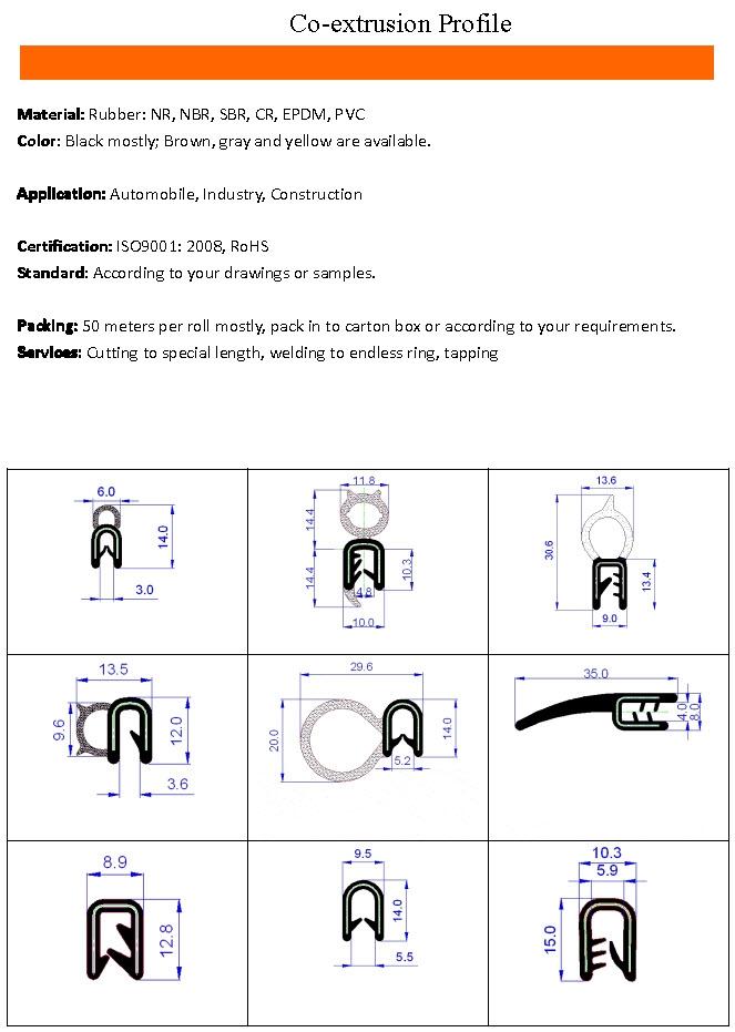 Co-extrusion Profile