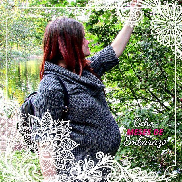 Aquí tenéis una fotografía de la escritora de novela Romántica Mary Martín, embarazada de su hijo Erik en Alemania