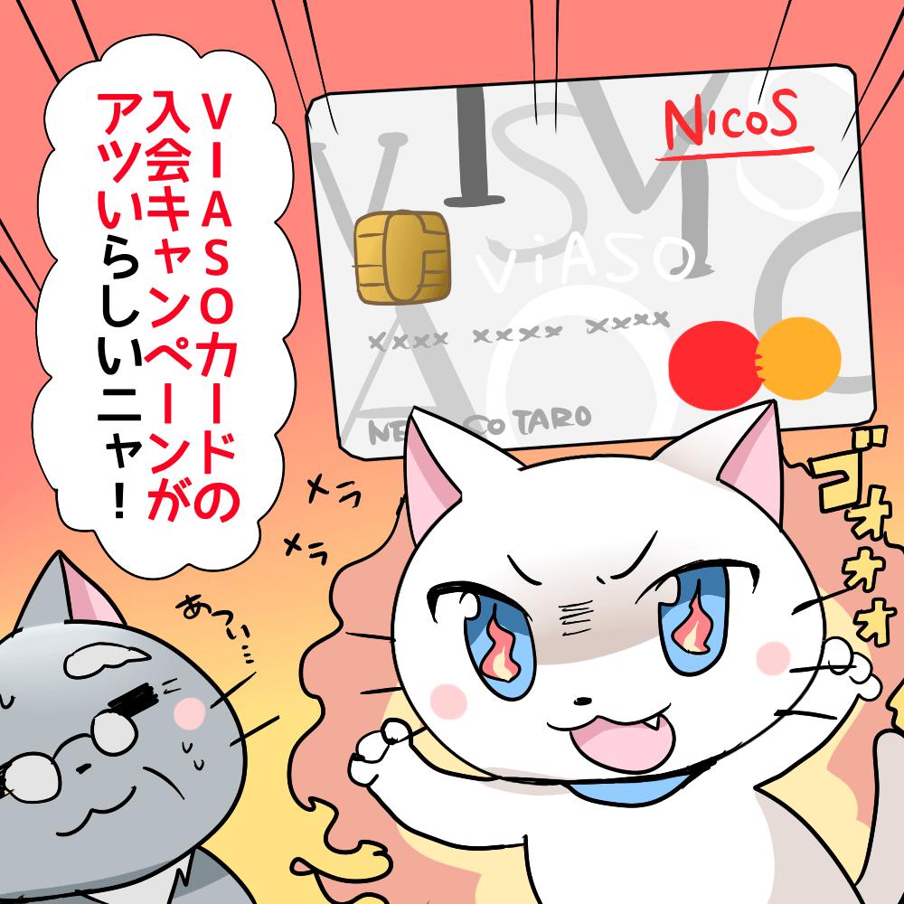 VIASOカード 入会キャンペーン