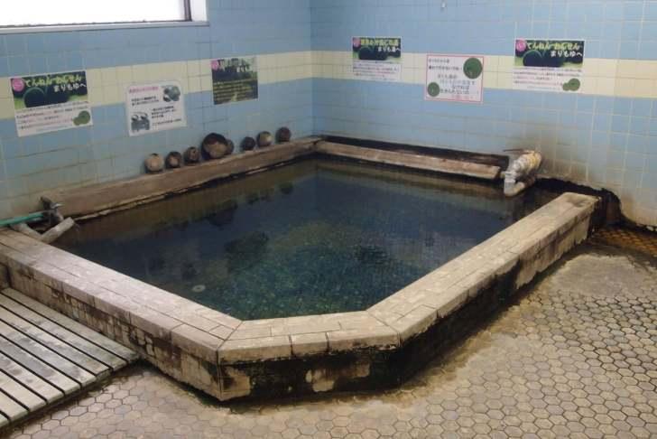釧路市、阿寒湖温泉の浴槽