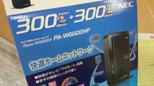 NEC Aterm PA-WG600HP
