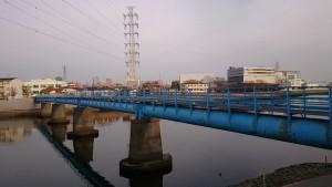 鶴見川人道橋