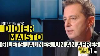 Gilets jaunes, un an après : Didier Maïsto