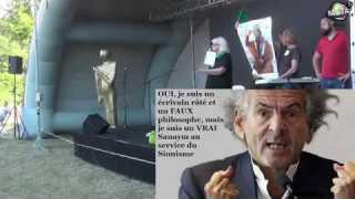 Ginette Skandrani au bal des quenelles 2019 – La guerre contre la Libye et Kadhafi