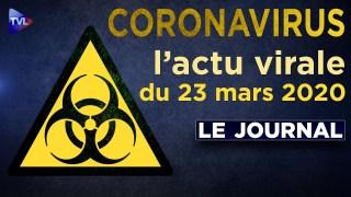 JT du lundi 23 mars 2020 – Coronavirus : l'actualité quotidienne