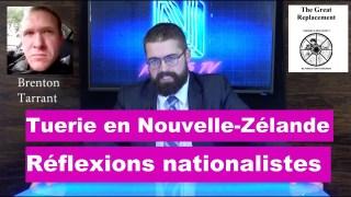 Tuerie en Nouvelle-Zélande : Réflexions nationalistes