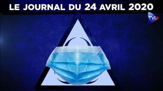 JT – Coronavirus : le point d'actualité – Journal du vendredi 24 avril 2020