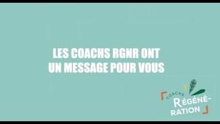Les coachs RGNR ont un message important et lancent un défi : renforcer le système immunitaire !