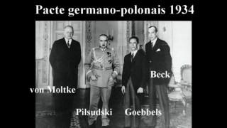 1934 : Le pacte germano-polonais (bonus Barbarossa) 12.03.2020