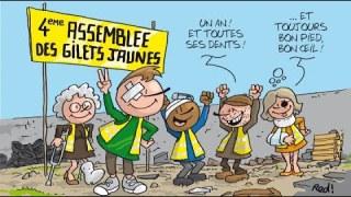 Gilets Jaunes : La révolte légitime 10.01.2020