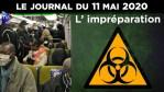 JT – Coronavirus : le point d'actualité – Journal du lundi 11 mai 2020