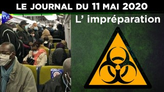 JT – Coronavirus : le point d'actualité – Journal du lundi 11 mai 2020