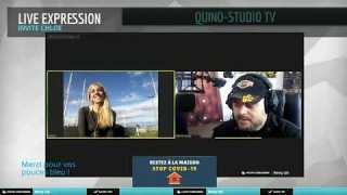 Live du 3 mai – QUINO STUDIO TV