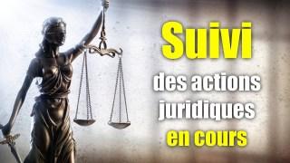 CG09 – Suivi des actions juridiques en cours – Coronagates #9