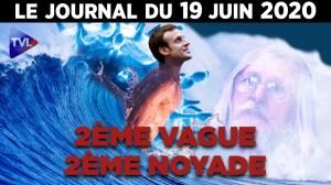Covid-19 : En cas de 2ème vague, la France a toujours un train de retard – JT du vend. 19 juin 2020