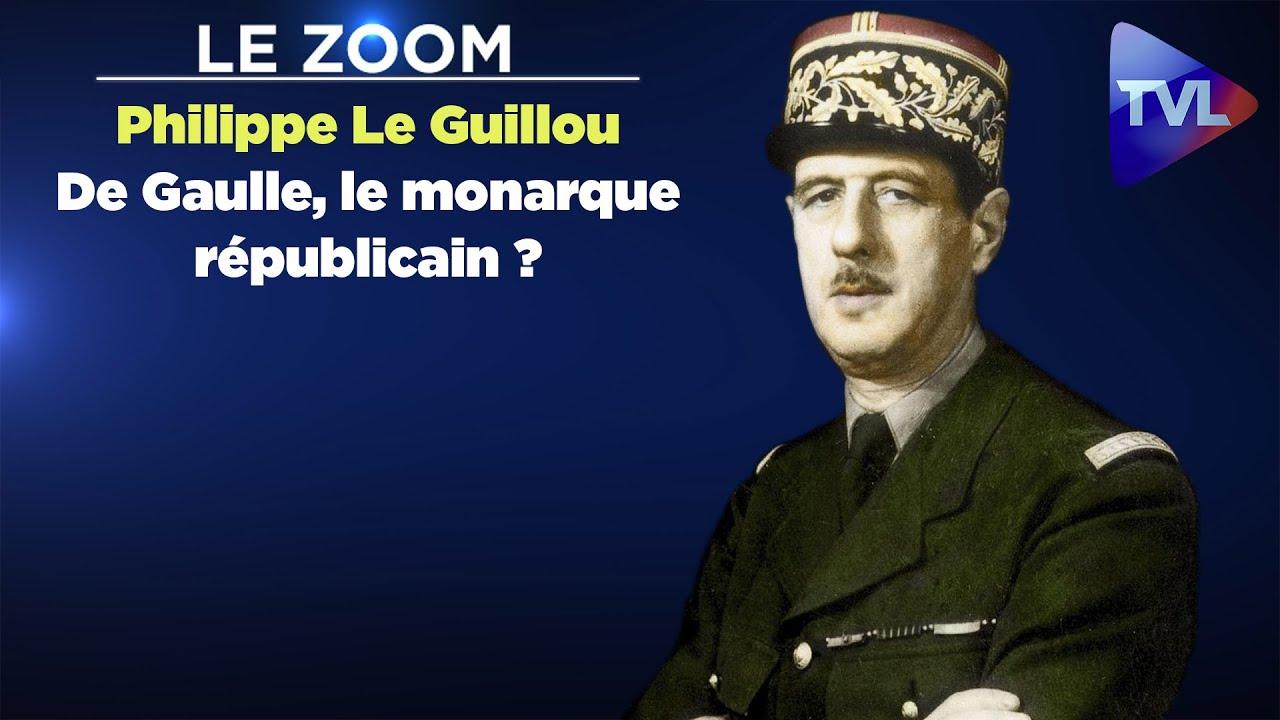 Le Zoom avec Philippe Le Guillou :De Gaulle, le monarque républicain ?