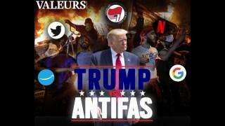 Trump vs Antifas