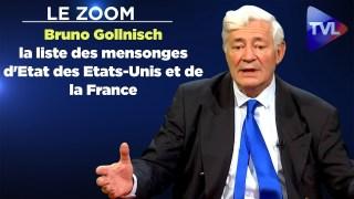 Zoom Bruno Gollnisch : »Je vous donne la liste des mensonges d'Etat des Etats-Unis et de la France ! »