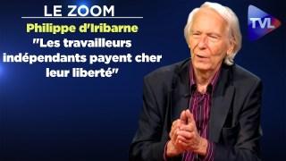 """Zoom – Philippe d'Iribarne : """"Les travailleurs indépendants payent cher leur liberté"""""""