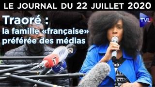 Adama Traoré : l'égérie anti-raciste soupçonnée de viol – JT du mercredi 22 juillet 2020