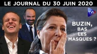 Agnès Buzyn : la chute imminente ? – Le JT du mardi 30 juin 2020