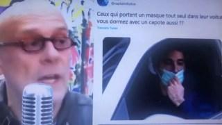 Alain Soral sur les masqués