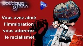 Après l'immigration, vous adorerez le racialisme ! – Politique & Eco n°262 avec J.M. Vernochet