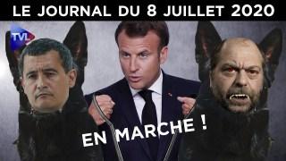 Dupond-Moretti  – Darmanin : La nouvelle garde de Macron – JT du mercredi 8 juillet 2020