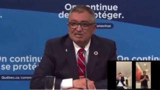 L'agent officiel de L'OMS au Québec, Horacio (bad boy) Arruda, nous menace directement !
