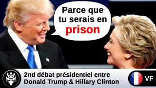 [VF] Donald Trump suggère qu'Hillary Clinton aille en prison
