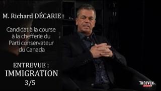 Vidéo 3/5 – Entrevue avec M. Richard Décarie