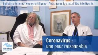 Coronavirus : une peur raisonnable