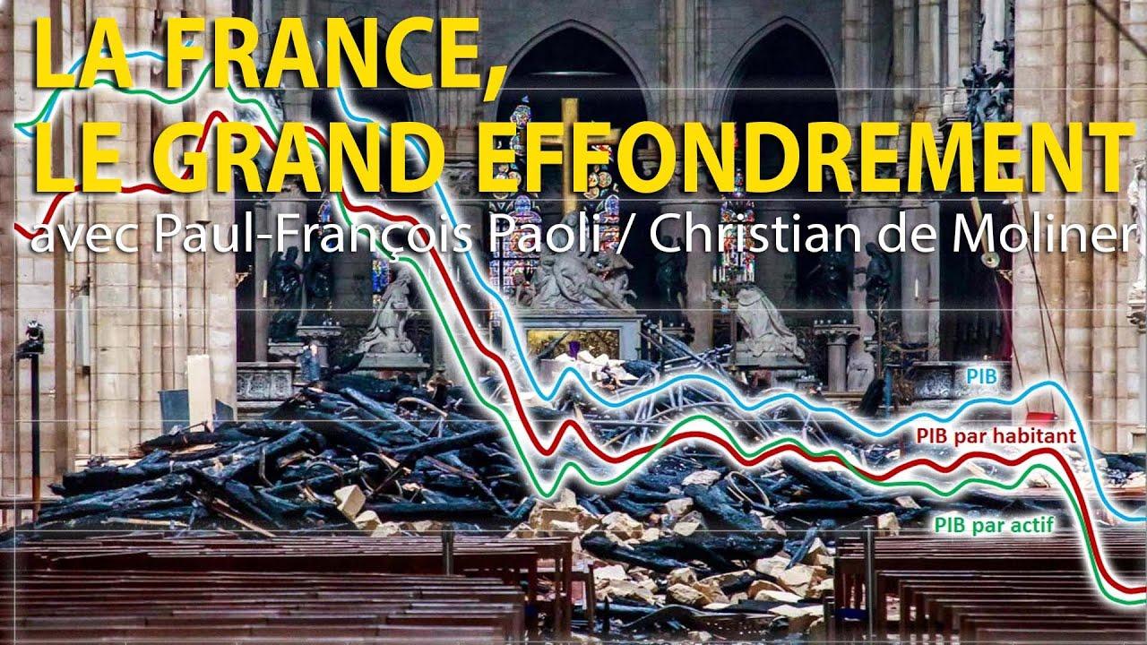 La France, le grand effondrement – Paul-François Paoli / Christian de Moliner – Le Zoom – TVL