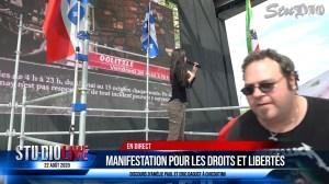 MANIFESTATION À CHICOUTIMI 22 AOÛT 2020 – AMÉLIE PAUL – ERIC DAOUST