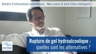 Rupture de gel hydroalcoolique : quelles sont les alternatives ?