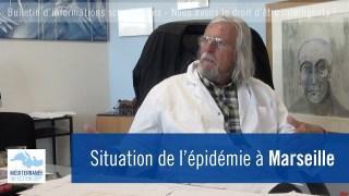 Situation de l'épidémie à Marseille