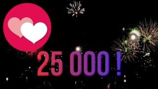 ✔️ 25 000 Abonnés Merci ?? ? [CENSURÉ]