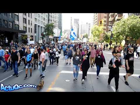 ActuQc : Extrait Vidéo de la Marche (12 Sept) avant l'upload Final HD