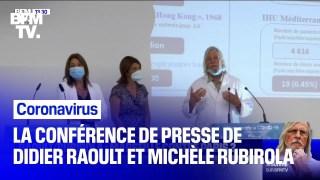 Coronavirus: la conférence de presse intégrale de Didier Raoult, Michèle Rubirola et Martine Vassal