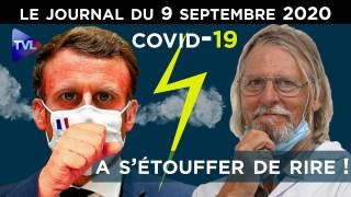 Covid-19 : le gouvernement s'étouffe – JT du mercredi 9 septembre 2020