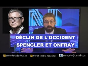 Déclin de l'Occident, Spengler et Onfray