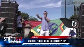 DISCOURS DE STÉPHANE BLAIS – MANIFESTATION DE MONTRÉAL 12 SEPTEMBRE 2020