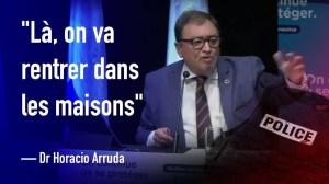 Horacio Arruda: Nous allons entrer dans les maisons! (8 Sept 2020)