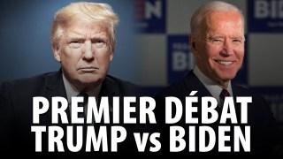 PREMIER DÉBAT PRÉSIDENTIEL – TRUMP vs BIDEN – 29 SEPTEMBRE 2020