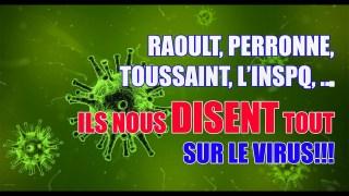 RAOULT, TOUSSAINT, PERRONNE, L'INSPQ, …ILS NOUS DISENT TOUT SUR CE VIRUS ET LA DEUXIÈME VAGUE!!!